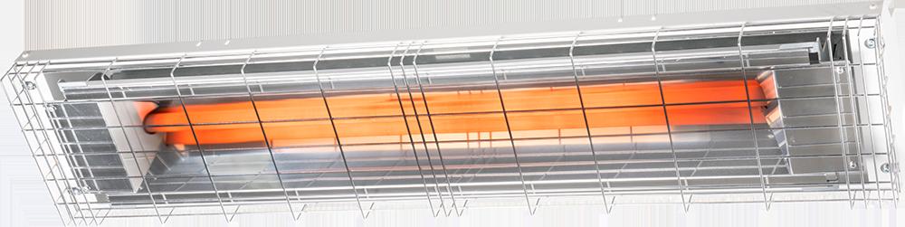 Riscaldatore radiante infrarossi omv omve