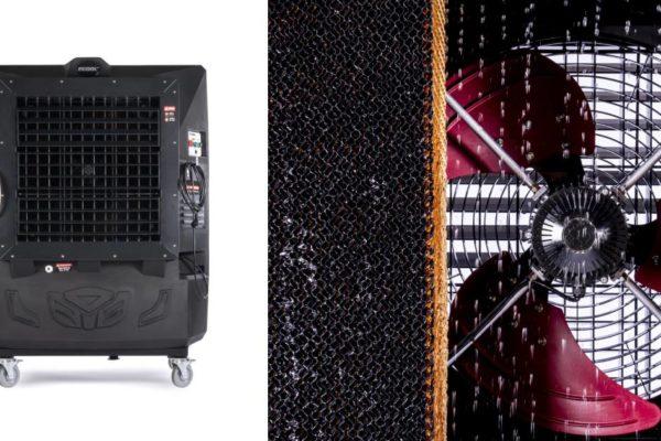 Raffrescatori portatili nell'industria